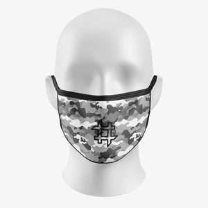 Grey Camouflage - Cover Mask