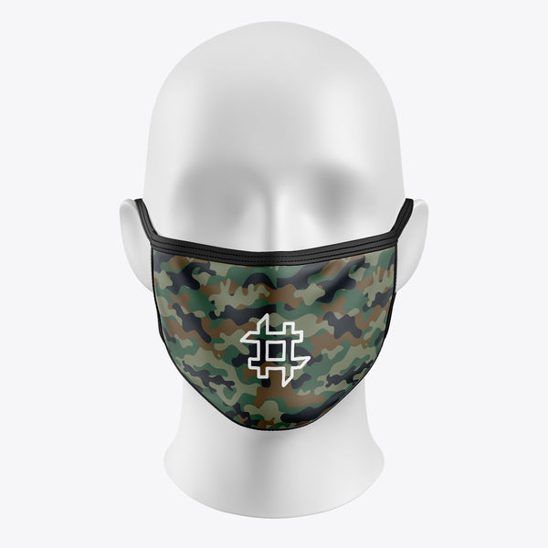 Green Camouflage - Cover Mask