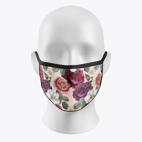 Romantic Flower - Cover Mask