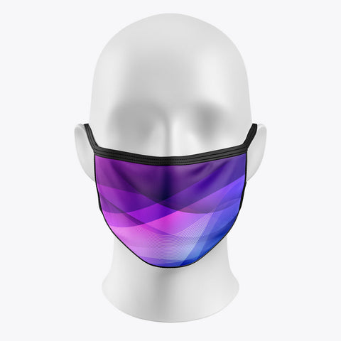 Purple Shadow - Cover Mask