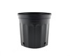 "These competitively priced standard black pots are the best of their class. These resin pots come with ample drainage and are more resistant to cracking in frigid weather than other brands. Made with 100% recycled, indestructible polyethylene material inside. Outside Diameter: 10"" (25.4 cm) Height: 9"" (22.86 cm) Max Dry Volume: 539 cu.in. Max Liquid Volume: 2.33 gal / 8.83 L"