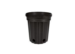 "These competitively priced standard black pots are the best of their class. These resin pots come with ample drainage and are more resistant to cracking in frigid weather than other brands. Made with 100% recycled, indestructible polyethylene material inside.  Inside Diameter: 6 1/2"" (16.51 cm) Height: 7"" (17.78 cm) Max Dry Volume: 173 cu.in.  Max Liquid Volume: 0.75 gal  / 2.84 L"