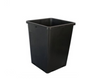 "This excellent quality container can be used for any loose media. Four bottom and four side holes for excellent drainage. Thicker than standard pots.  2 gallon / 7.5 L  7.5""X7.5""X10""H"