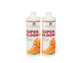 Hydrotech Super Bloom A&B. premium nutrient solution. Fruit and flower blend for use in hydrogardens, soil and coco media