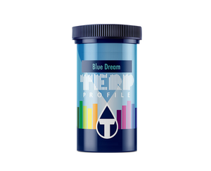 True Terpenes Blue Dream. lueberry Indica with Haze (sativa) to create a sativa-dominant hybrid.