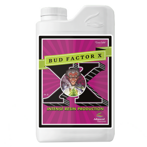 Bud Factor X can make all the difference if Magnesium deficiencies have been a problem. Your crop may need magnesium to help balance the use of high potassium fertilizers commonly used in the hydroponics industry. Use our Factor X and avoid common deficiency symptoms such as; interveinal chlorosis in older leaves, curling of leaves upward along margins and marginal yellowing.