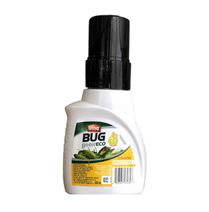 Bug B Gon. Insecticide, for use outdoors, indoors on houseplants or in greenhouses. Concentrate, must be diluted with water before use.