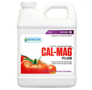 Botanicare Cal Mag Plus. 0.5-0.5-1. Organic-based compost solution. Pure Blend Tea is a highly soluble compost tea solution that is easily absorbed by plants grown in hydroponic, soil, and soilless mediums.