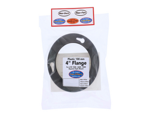 This plastic flanges install via an easy snap on, tool free, connection forming a perfect seal with Can-Filters products.
