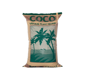 Canna Coco substrate is a 100% organic product having a fine, uniform structure, free from viruses, chemical additives and soil diseases. The fact that Canna Coco is not steamed is not the only thing that distinguishes it from other substrates; this is also achieved by the use of pure, first class source materials. Which come from India, where Canna's production facilities use fresh water only to soak the coco. This to make sure no salts gets in contact with Canna Coco, ensuring a clean product.