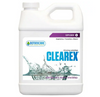 Botanicare Clearex. Clearex was designed for the periodic rinsing and removal of excess salt buildup in container gardens and hydroponic systems.
