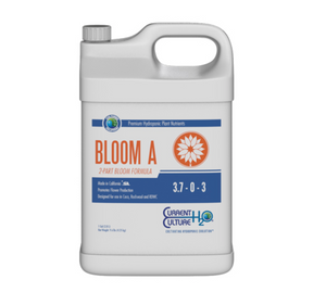 Cultured Solutions Bloom A & B is a full spectrum, mineral-based nutrient which contains all the elements necessary to produce prolific results. With a properly balanced dose of minerals in solution, Bloom A & B affords plants just what they need to thrive as they push forward into the reproductive stage.  Bloom Formula Exceptionally pH Stable Highly Concentrated
