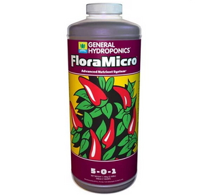 General Hydroponics FloraMicro 5-0-1, good things come in threes!