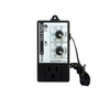 Day/Night temperature controller Heating or cooling 55°F - 95°F (13°C - 35°C) Differential ± 2°F (± 1°C) Maximum 120V load : 15A (resistive, ballast), 10A (tungsten), 1/2HP (motor, pump)