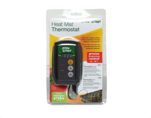 A digital temperature control device that allows gardeners to select and maintain optimum rooting temperatures for faster seeding or cutting growth. It is compatible with all Hydrofarm heat mats.   Temperature control   68-108 °F  20-42 °C