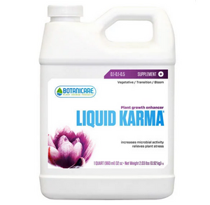 Botanicare Liquid Karma. Plant growth formula. Liquid Karma is the perfect complement to your regular feed program.