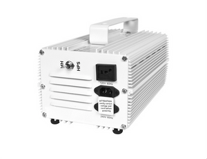 Premium Switchable Ballast is capable of switching between Metal Halide (MH) and High Pressure Sodium (HPS) bulbs, as well as 120v and 240v.   Socket sold separately.