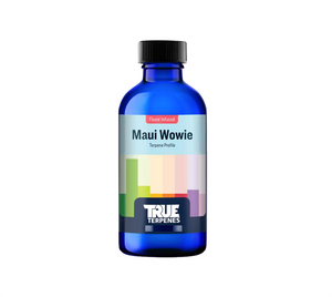 Maui Wowie is inspired by the tropical paradise it takes its name from. This cultivar was originally bred in Hawaii where pineapples also call home. Hints of mango, pine and pepper add complexity to this profile.  Fragrance: Heavy pineapple and mango base with notes of pine and pepper  Effect: Uplifting and unwinding, great for focus