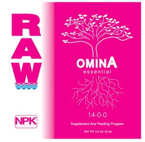Raw OminA. Nitrogen is a crucial nutrient for plants to produce and utilize energy. Raw OminA is an easily absorbed source of nitrogen derived from plant proteins.