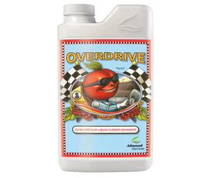 Advanced Nutrients Overdrive. 1-5-4 Late phase bud ripener & weight gainer.