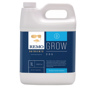 Remo's Grow, Micro and Bloom bring a quality and simplicity to your garden. Their proprietary blend of macro and micronutrients provide your plants with the foundation needed to achieve maximized yield. They only use pharmaceutical grade minerals, marine extracts and the finest chelates to ensure consistency and pH balance. Can be used in soil, soilless and hydroponic gardens.