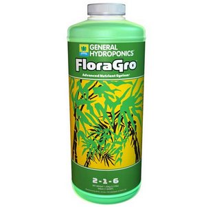 General Hydroponics FloraGro 2-1-6, good things come in threes!