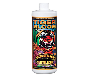 2-8-4 FoxFarm Tiger Bloom is an ultra-potent, fast-acting, high phosphorous that also contains a good supply of nitrogen for growth and vigour
