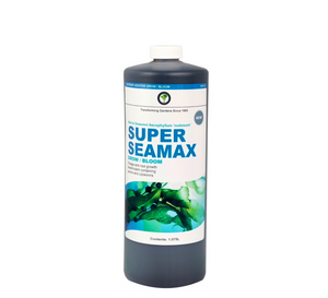 Hydrotech Super Seamax. Marine seaweed ascophyllum 'nodosum'. Foliage and root growth biostimulant containing auxins and cytokinins.