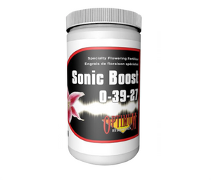 Sonic Boost Flowering Fertilizer is a water-soluble powder that delivers high levels of phosphorous and potassium to plants during flower and fruit development. Add Sonic Boost to hydroponic garden nutrient solutions at the first sign of flowering and then add at every change of nutrient solution. Ideal to use with Optimum hydroponix 2-part nutrient and all other basic fertilizer programs.