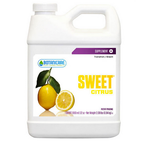 Botanicare Sweet Citrus. Sweet Grape is specially formulated to produce beneficial results during all phases of plants growth.