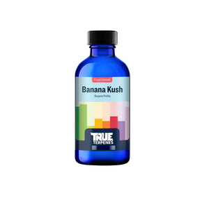 This sweet, tropical indica-dominant blend gives a soothed, uplifted, creative focus. Banana Kush crosses Skunk Haze and Ghost OG.The fresh banana taste will help increase happiness, better restfulness, creativity, talkativeness, and attention.  Fragrance: Sweet, fruity, pungent, tropical  Effect: Soothed, care-free, uplifted, energetic