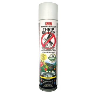 Kills leafminers, exposed thrips, whiteflies, aphids, and other insects. Safe for use on vegetable gardens, fruit trees, ornamental plants and flowers. Contains permethrin.