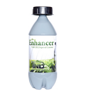 The Enhancer is an all natural CO2 generator made from 100% organic ingredients. This safe and effective solution for CO2 supplementation creates a blast of CO2 that can reach 1200 PPM in a 12x12x12 foot area for up to 2 weeks. Activate The Enhancer by adding 1 litre of warm water, placing the lid back on, removing the sticker on the lid, covering the small hole with your thumb and giving the bottle a quick shake. The Enhancer works off the natural phenomena known as photosynthesis and will begin to dispers