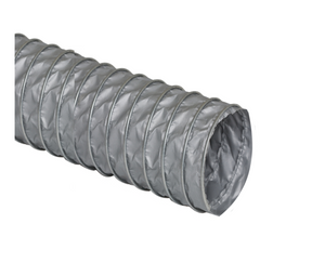Flexible ducting facilitates routing exhaust lines. Minimizes echoes associated with rigid ducting. Comes in 25' lengths.