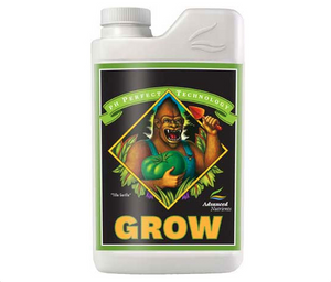 Advanced Nutrients pH Perfect Grow. 1-0-4 Lush, sturdy growth from 3-part base nutrients designed specifically for your plants.