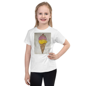 American Apparel 2105W Kids Fine Jersey Short Sleeve T-Shirt (White / 6yrs)