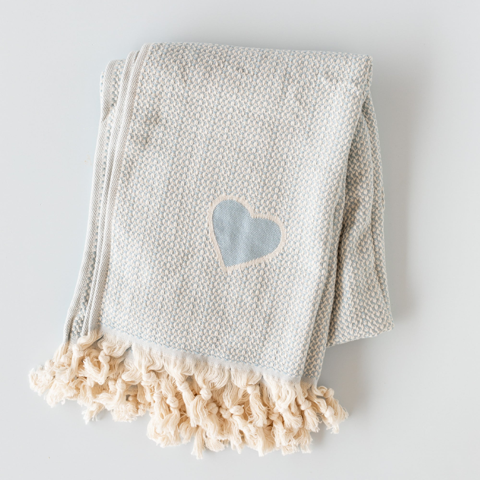 Droplet Home Goods: Organic Cotton Throw