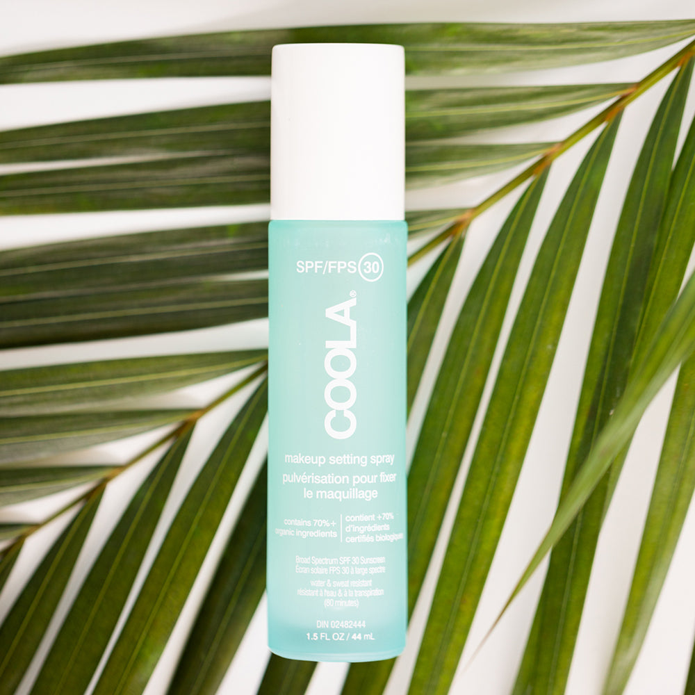 Coola: Organic Makeup Setting Sunscreen Spray