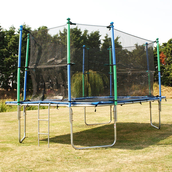 Air Bound Z17 & Z20 Safety Enclosure & Nets - UK Gym Pits