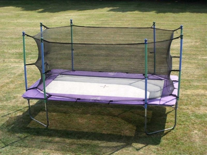 Air Bound Z17 Extreme Outdoor Trampoline - UK Gym Pits