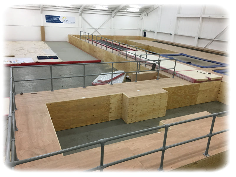 Floor Fitting Base Plates - UK Gym Pits
