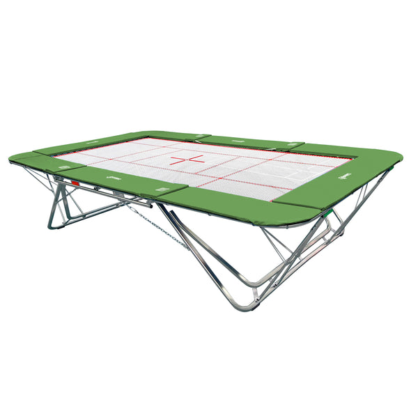 GM Rebound Trampoline - White Super-mesh Bed - UK Gym Pits