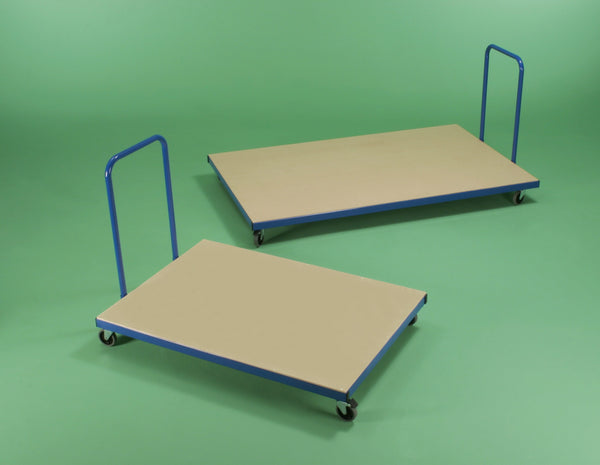 Horizontal Mat Trolley - Small or Large - UK Gym Pits