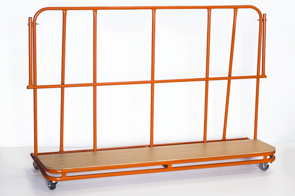 Inclined Vertical Mat Trolley - UK Gym Pits