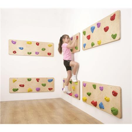Indoor Traverse Climbing Wall Panels - UK Gym Pits