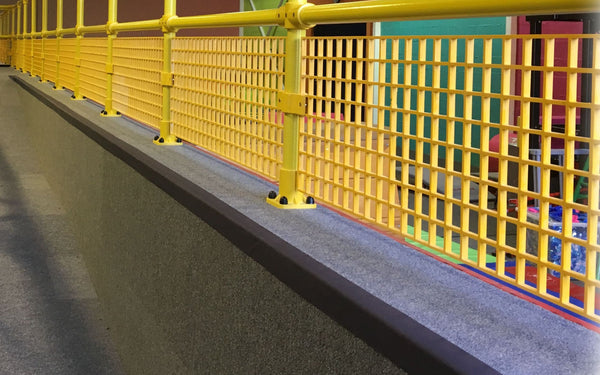 Mesh Safety Panels - UK Gym Pits