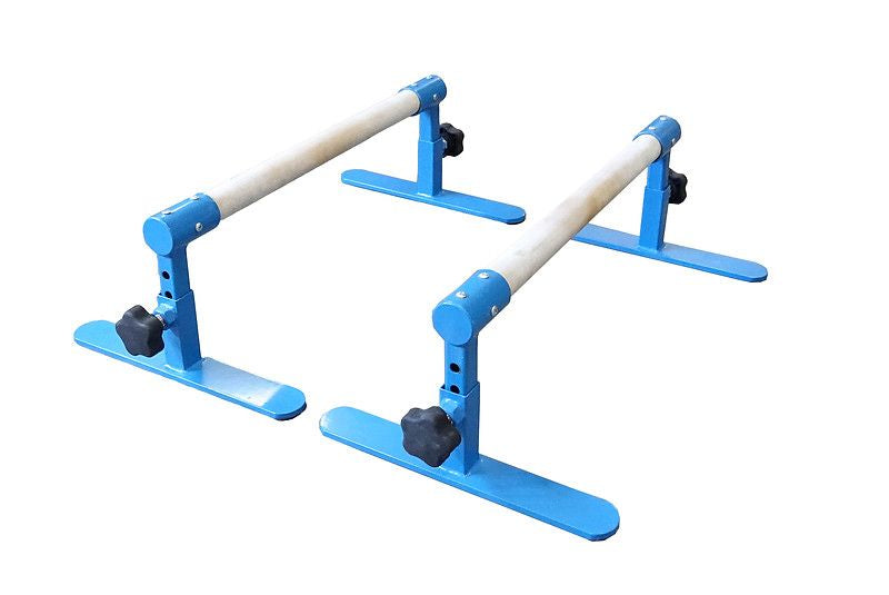 Parallette Bars - Adjustable Height - UK Gym Pits