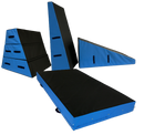 Parkour Stepping Blocks - Set of 3 - UK Gym Pits
