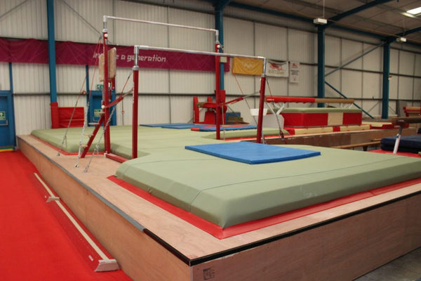Resi Foam - 60cm Raised Pits - UK Gym Pits