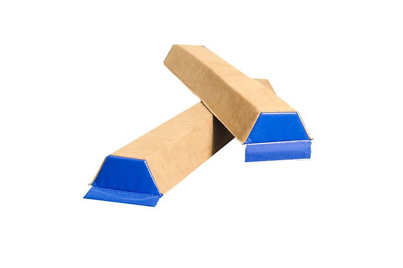 Sectional Balance Beam - Suede - UK Gym Pits